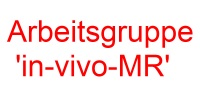 Arbeitsgruppe 'in-vivo-MR'